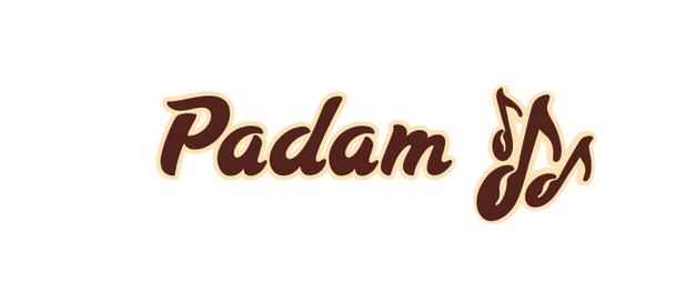 Логотип кафе Padam