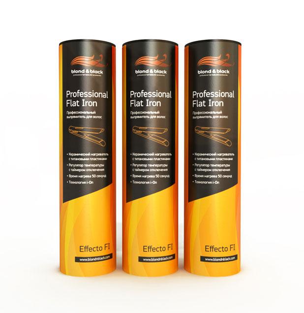Утюг для волос Blond&Black, модель EffectoFI