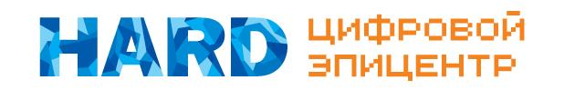 Логотип Цифрового эпицентра HARD